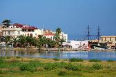 Rethymno city at Crete island (Greece) — Stock Photo