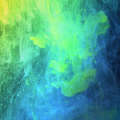 Abstract color ink in water — Stock Photo
