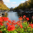Bridge over the canals of Amsterdam, Netherlands — Stock Photo #35766775