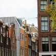 Dutch house in Amsterdam — Stock Photo