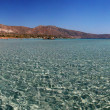 Panorama Elafonisi beach in Crete, Greece — Stock Photo