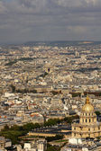 Hotel des Invalides bird eye view located at Paris, France — Stock Photo