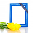 Frame for the photo — Stock Photo
