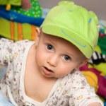 Little boy in a cap — Stock Photo #12569355