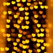 Defocused heart lights — Stock Photo #38665689