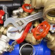 Stock Photo: Various plumbing accessories and parts