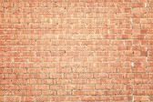 The old brick wall in red color — Stock Photo