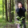 Boy lost in the woods episode 8 — Stock Video #28744175
