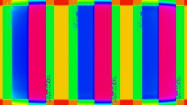 Abstract multicolored rectangles — Stock Video