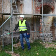 Building inspectors at old ruins episode 1 — Wideo stockowe