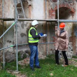 Building inspectors at old ruins episode 3 — Wideo stockowe