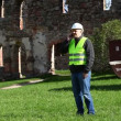 Building inspectors at old ruins episode 6 — Stockvideo