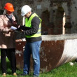 Building inspectors at old ruins episode 11 — Vídeo de stock