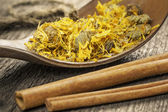 Natural herbal tea — Stock Photo