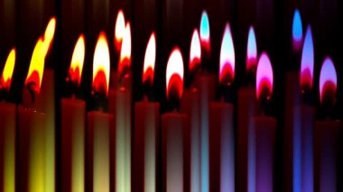 Burning candles episode 1 — Video Stock