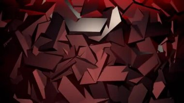 Abstract ridged surface episode 1 — Stock Video