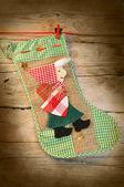 Christmas stocking — Стоковое фото