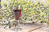 Myrtle liqueur — Stock Photo