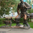 Monument to hero of novel SantShchukar M. Sholokhov — Stock Photo #12228051