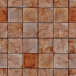 Seamless wooden cubes background — Stockfoto