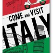 Vector italy travel invitation poster — Stock Vector #26607913