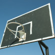 Street basketball hoop — Stock Photo