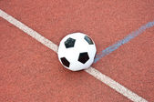 Ball on the ground — Foto de Stock