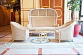 Vintage chair and sofa style — Stock Photo