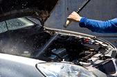 Car care — Stock Photo