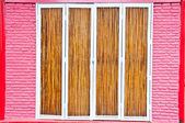 Bamboo door — Stock Photo