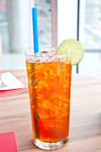 Lemon tea — Stockfoto