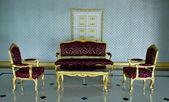 Luxury benches set — 图库照片