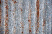 Zinc plate texture background — Stock Photo