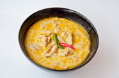 Thai food call KAENG KEAW WAN KAI — Stock Photo