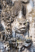 Old tiger statue — Stock Photo