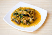 Thai style fish curry — Stock Photo