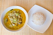 Chicken curry — Stock Photo