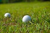 старый мяч для гольфа — Стоковое фото