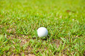 Old golf ball — Stock Photo