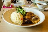 Baked rice — Stock Photo
