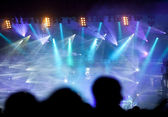 Sahne ışıkları — Stok fotoğraf