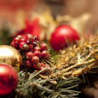 Christmas decorations — Stock Photo #15398321
