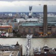 London panorama from St. Paul cathedral — Stockfoto