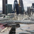 Royalty-Free Stock Photo: London panorama from St. Paul cathedral