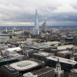 London panorama from St. Paul cathedral — Stock Photo #24453365