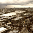 London panorama from St. Paul cathedral - Stock fotografie