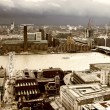 London panorama from St. Paul cathedral - Photo