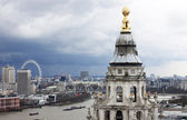 London view from St. Paul cathedral — Stock Photo