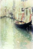 Venice - vintage photo — Stock Photo