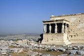 The Parthenon in the Akropolis, Athens — Stock Photo